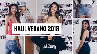 HAUL TEMPORADA VERANO 2018: Pull&Bear, Zara, Brandy Melville, Subdued... | @CLAKOVI