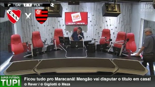 Independiente 2 x 1 Flamengo - Final - Jogo de Ida - Copa Sul-Americana - 06/12/2017