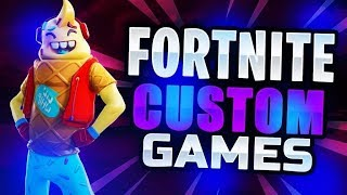 Private Discord Customs // Fortnite Battle Royale // #YoutubeAM
