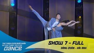 Dư Âm - Đăng Quân & Hải Anh // Contempt - Show 7 - Thử Thách Cùng Bước Nhảy 2016