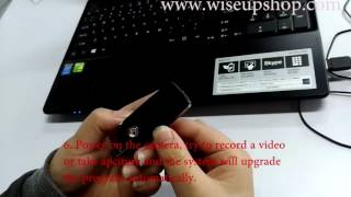 WISEUP How to Set Time and Date for USB Flash Drive Spy Camera (Model Number: U10)
