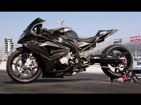 Rsd Roland Sands Design Builds A Bmw S1000rr Drag Bike On Two