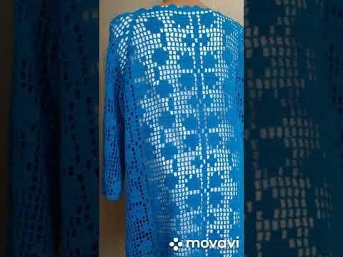 Туника (филейное вязание)