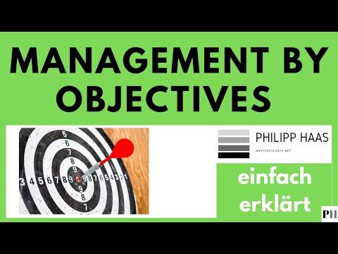 Management by Objectives MBO - einfach erklärt