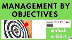 Management by Objectives (MBO) - einfach erklärt