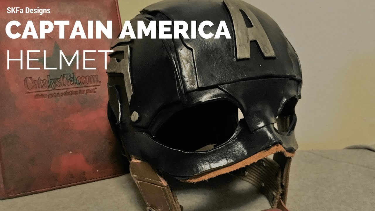 Captain america helmet tutorial youtube captain america helmet tutorial maxwellsz