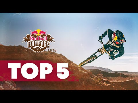 The Top Five Runs of 2018 | Red Bull Rampage