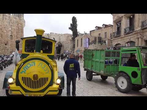Jerusalem Churches And Armenian Quarter Christmas 2018 Հայոց թաղ
