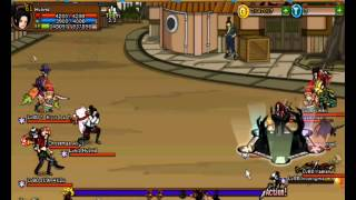 Ninja Saga Clan Battle : Blood Brothers vs 4za Aremania