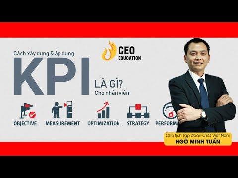 Thế Nào Là KPI ?   Thế Nào Là Cơ Chế Khoán ?   Ngô Minh Tuấn   Học Viện CEO Việt Nam