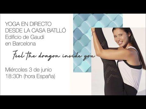 Yoga En Directo Desde La Casa Batlló ( Barcelona) - 03/06/20