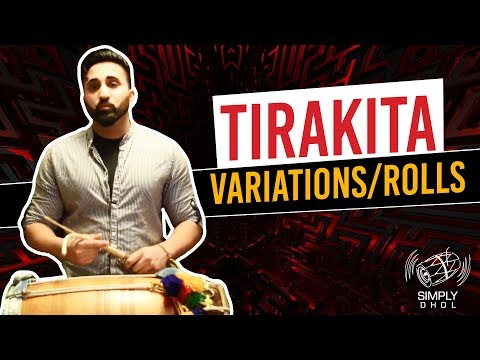 006 - Simply Dhol - Tirakita Variations/Rolls