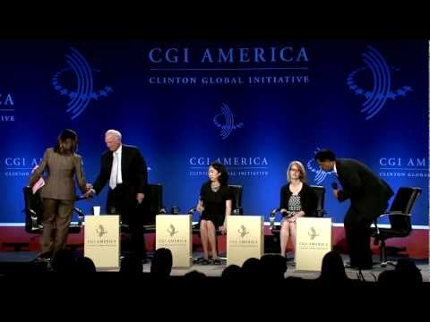 Place-Based Innovation: Creating Centers of Prosperity - CGI America 2012 Plenary Session
