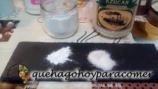 Truco: Cómo hacer azúcar glass en casa