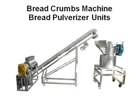 Bread Crumbs Machine