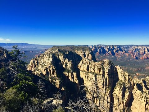 Summit of Mt. Wilson - Sedona Arizona Dayhike
