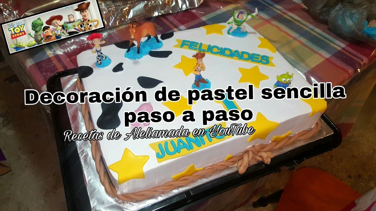 Decoracion De Pasteles Toy Story Paso A Paso Recetas De Aleliamada