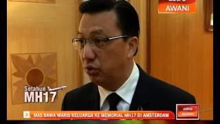 MH17: MAS bawa waris keluarga ke memorial MH17 di Amsterdem