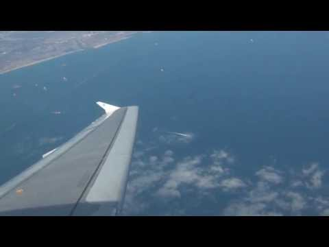 JetBlue A320 Departure from Long Beach Airport