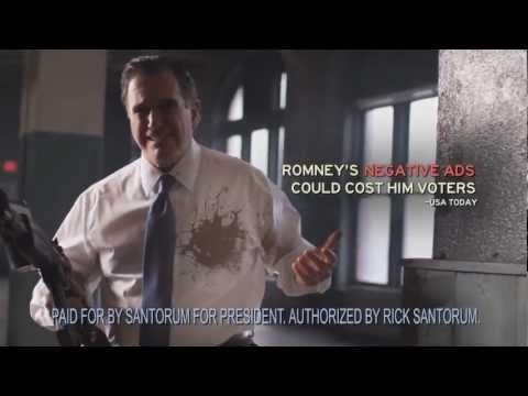 """Santorum ad """"Rombo"""" 2012"""