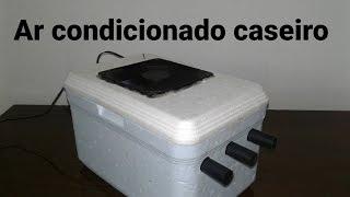 Como Fazer mini ar condicionado caseiro