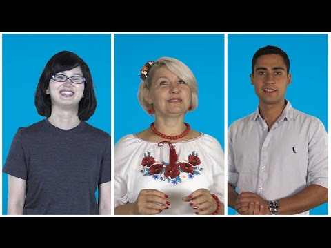 Learning English: ESL Students from Ukraine, Brazil and Japan