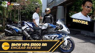 Review and Test Ride : Bmw HP4 Whyzul - Engear Review #Ep32