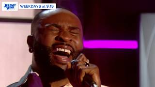Gambar cover X Factor's J-Sol performs Bullet In My Heart Live