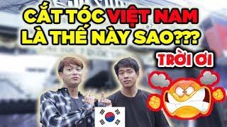 Video Trời ơi... Cắt tóc ở Việt Nam là thế này sao??? | Người Hàn quá bất ngờ lần đầu đi cắt tóc download MP3, 3GP, MP4, WEBM, AVI, FLV November 2018