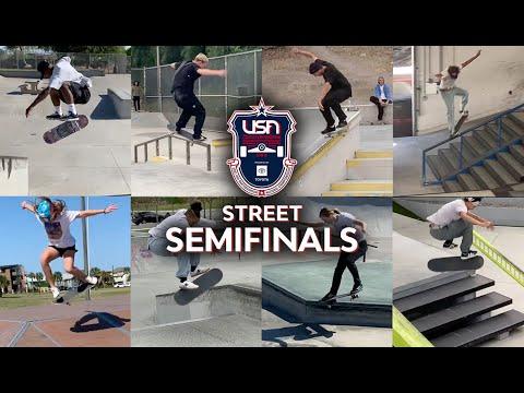 STREET SEMIFINALISTS | 2021 USA SKATEBOARDING NATIONAL CHAMPIONSHIPS