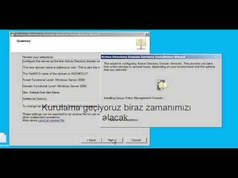 Active Directory Kurulumu - Adem ÖCÜT  ( MCP - MCSA )
