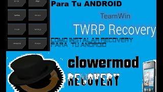 Instalar recovery CWM o TWRP en HUAWEI Y300 y G510