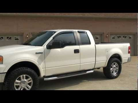2007 FORD F 150 SUPERCAB 4X4 LARIAT FOR SALE SEE WWW SUNSETMILAN COM