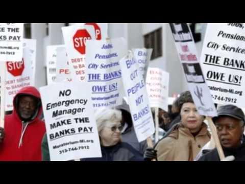 Detroit files multi billion dollar bankruptcy plan - 22 February 2014