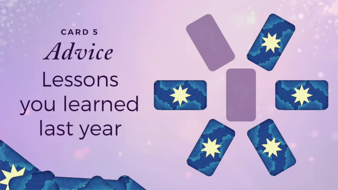 7-Card Year-Ahead Tarot Reading Spread