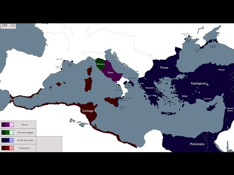 The Struggle for the Mediterranean (1209-146 BCE)