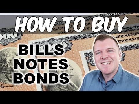 How To Buy Government Securities - Bills, Notes, Bonds