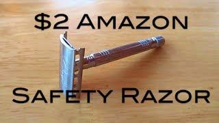 $2 Amazon Safety Razor