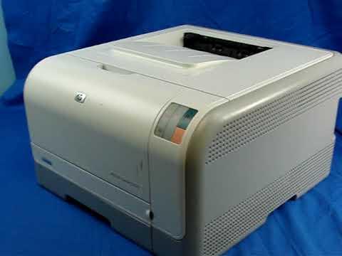 Hp Color Laserjet Cp1215 Test Page Auction Bay Online Www