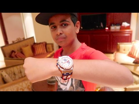 DUBAI'S RICHEST KID SPENDS $100,000 ON A WATCH !!!