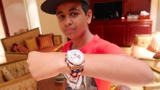DUBAI'S RICHEST KID SPENDS $100,000 ON A WATCH !!!