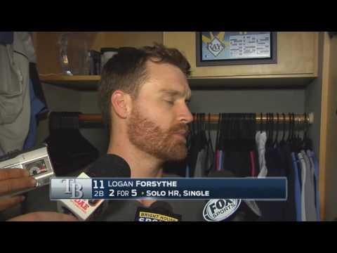 Logan Forsythe -- Tampa Bay Rays vs. New York Yankees 07/29/2016