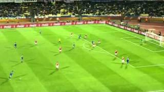 南アフリカW杯2010 グループE 日本-デンマーク  ハイライト