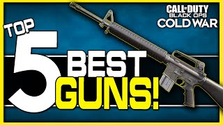 Top 5 Best Guns in Cold War Multiplayer!