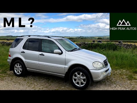 The First Generation MERCEDES ML was the King of the Suburbs! (ML320 Review & Test Drive)