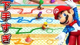 【4人実況】マリオパーティ100 ミニゲームコレクションで衝撃のラスト!