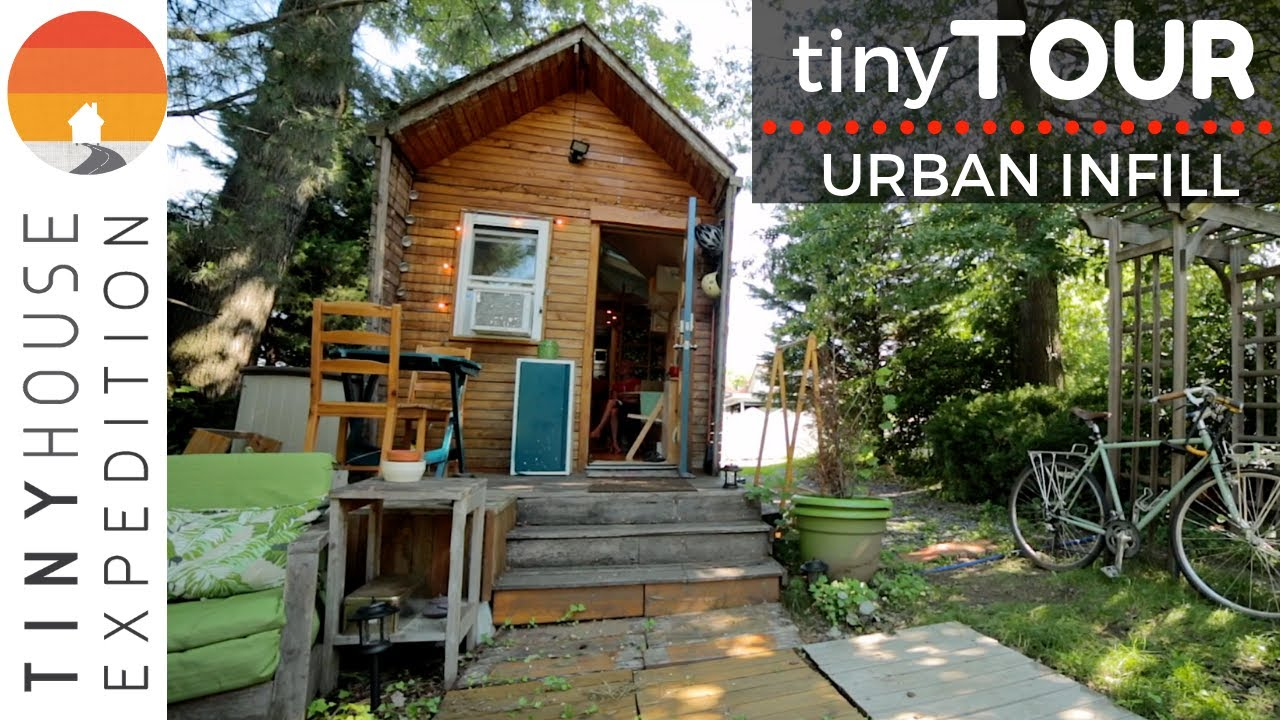 Urban Tiny House, Home to Community Builder & Advocate