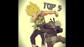 TOP 5 DAB MANGA