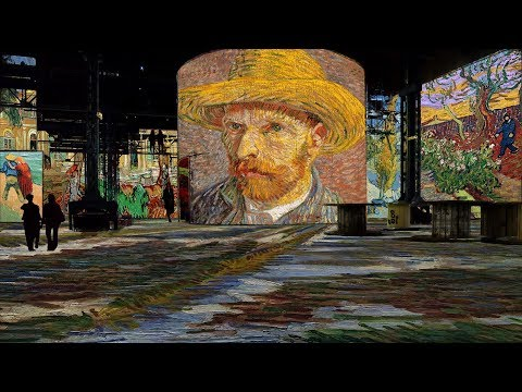Vincent van Gogh art ALIVE - Atelier des Lumières (Paris, France) STARRY NIGHT