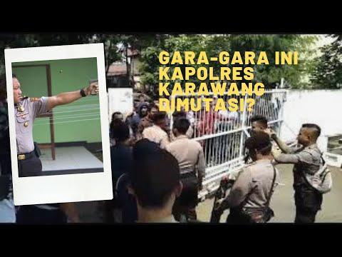 Gara-gara ini Kapolres Karawang AKBP Hendy F Kurniawan Dimutasi Kapolri?